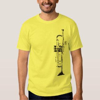 sf-inter.com Trumpet with Avatar Logo Tee Shirt