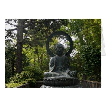 everydaylifesf SF Japanese Tea Garden Buddha Greeting Card