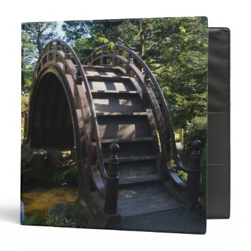 everydaylifesf SF Japanese Tea Garden Drum Bridge Binder