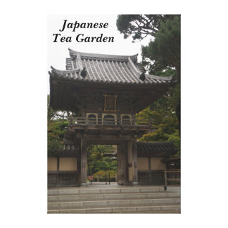 SF Japanese Tea Garden Entrance #2 Canvas