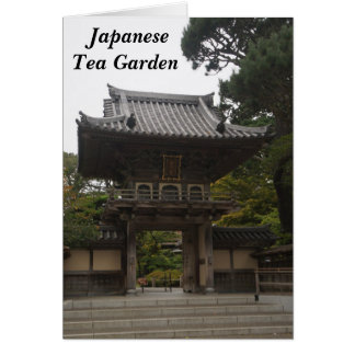 SF Japanese Tea Garden Entrance #2 Card
