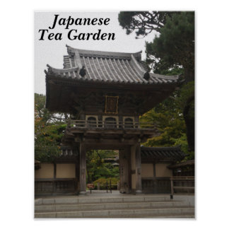 SF Japanese Tea Garden Entrance #2 Poster