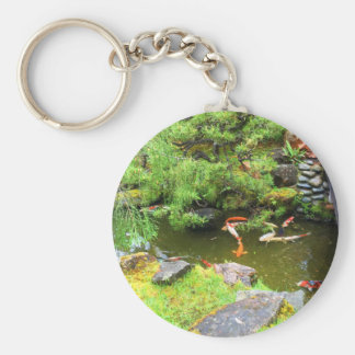 SF Japanese Tea Garden Koi Pond #3 Keychain