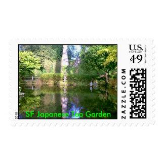 SF Japanese Tea Garden Pool Stamp