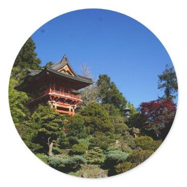 everydaylifesf SF Japanese Tea Garden Temple Gate Stickers