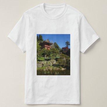 everydaylifesf SF Japanese Tea Garden Temple Gate T-shirt
