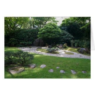 SF Japanese Tea Garden Zen Garden #2 Card