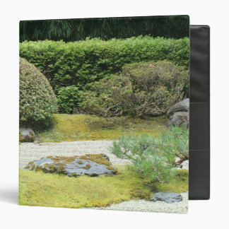 SF Japanese Tea Garden Zen Garden Binder