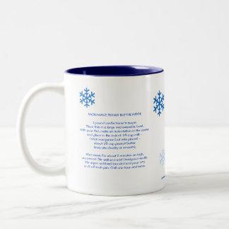 SF Microwave Peanut Butter Fudge Two-Tone Coffee Mug