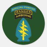 SF Q-tab, SSI and Ranger tab Sticker