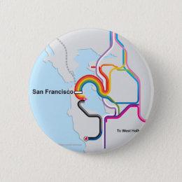 SF Rainbow Map Button