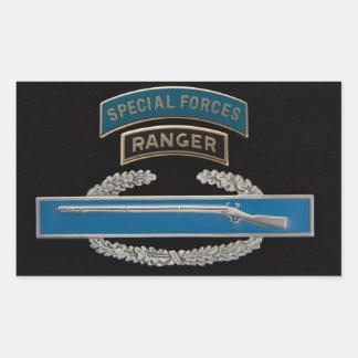 SF Ranger CIB Rectangular Sticker