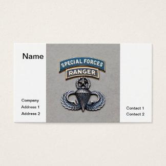 SF Ranger Master Airborne Business Card