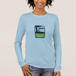 SF RPD Logo Long Sleeve Tee for Women in Blue