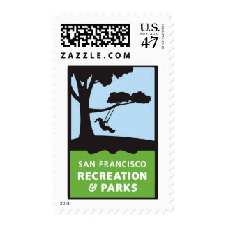 SF RPD Logo Postage Stamps