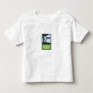 SF RPD Logo Tee in white for Toddlers