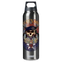 SF Skull II Roundel Thermos Bottle