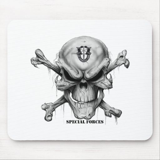 SF Skull Mouse Pad