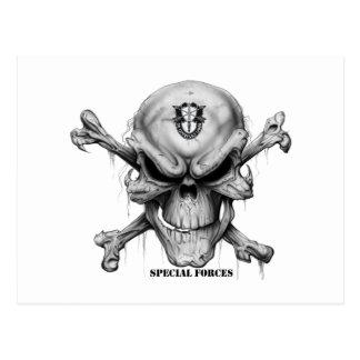 SF Skull Postcard