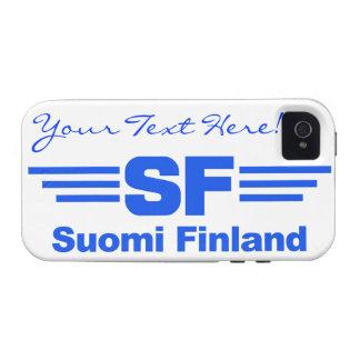SF Suomi Finland custom iPhone 4 Case-Mate iPhone 4 Cover