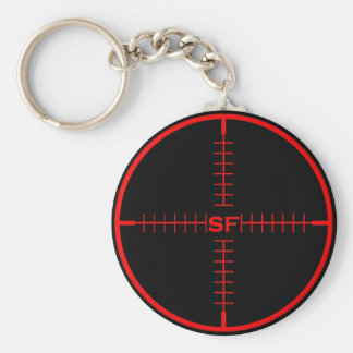 SF Target Keychain