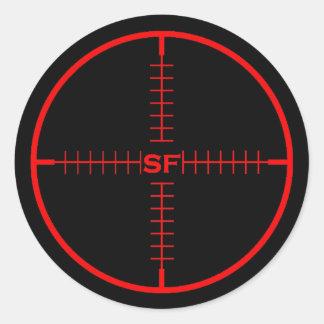 SF Target Sticker