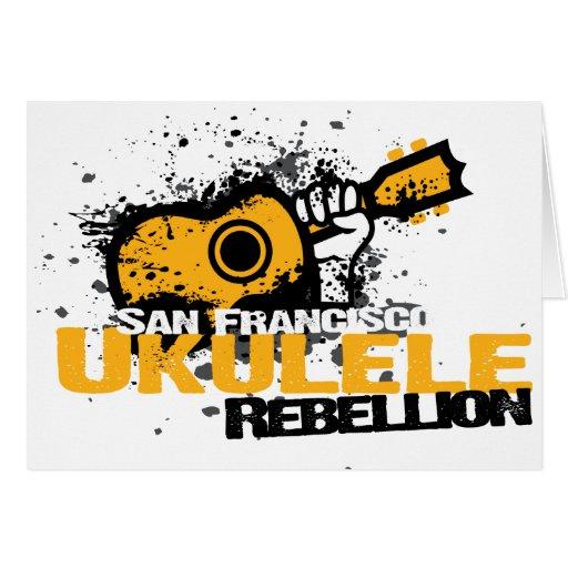 sf Ukulele Logo Card