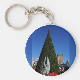 SF Union Square Christmas Tree Keychain