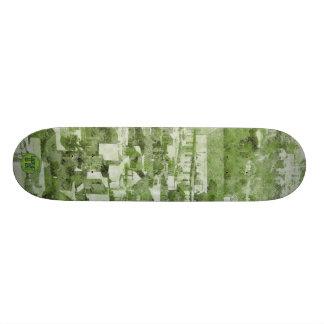 Sf Vintage Village green Skateboard Deck