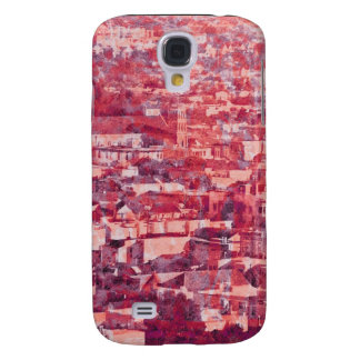 Sf Vintage Village pink Galaxy S4 Cover