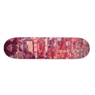 Sf Vintage Village red Skateboard Deck