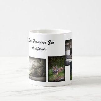 SF Zoo collage mug