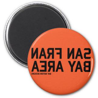 SFBA Black & Orange Refrigerator Magnet