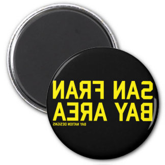 SFBA Black & Yellow Magnet