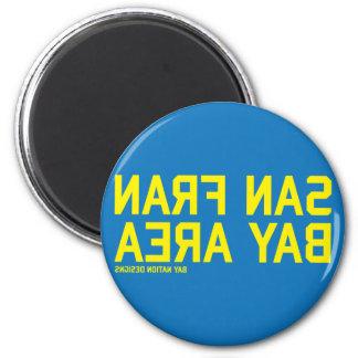 SFBA Blue & Yellow Magnets
