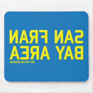 SFBA Blue & Yellow Mouse Pad