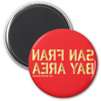 SFBA Red & Gold Fridge Magnet