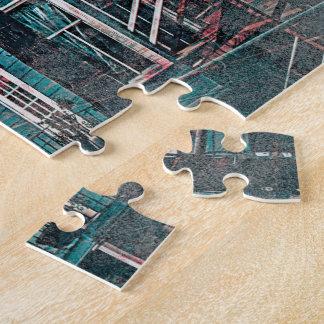 Sfc de la esquina del distrito de la misión de los puzzle
