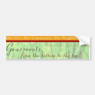 SFC Grassroots BS Car Bumper Sticker