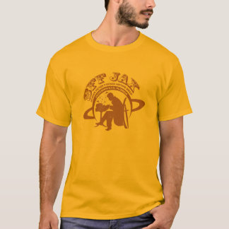SFFX JAX logo, brown in on gold T-Shirt