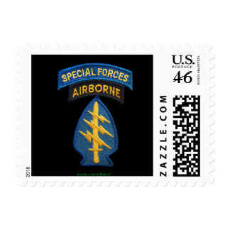 sfg special forces green berets patch stamp