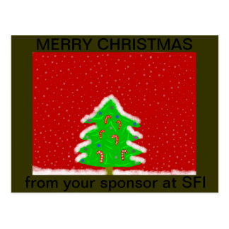 SFI SPONSORS CHRISTMAS POST CARDS