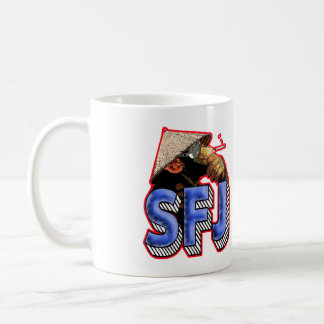 SFJ Podcast Monkey Mug