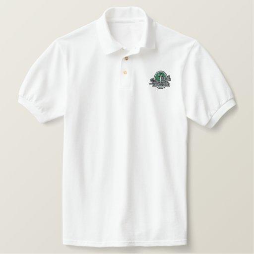 SFKS embroidered Logo polo shirt