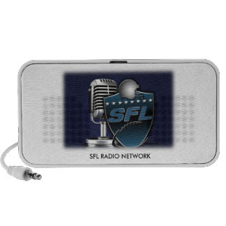 SFL RADIO NETWORK portable speaker