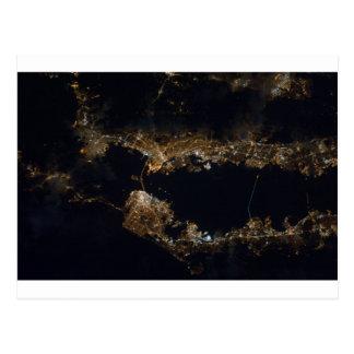 sfo night pan ESC_large_ISS026_ISS026-E-12788.jpg Postcard