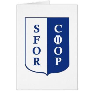 SFOR Bosnia Card