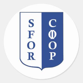 SFOR Bosnia Classic Round Sticker