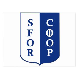 SFOR Bosnia Postcard