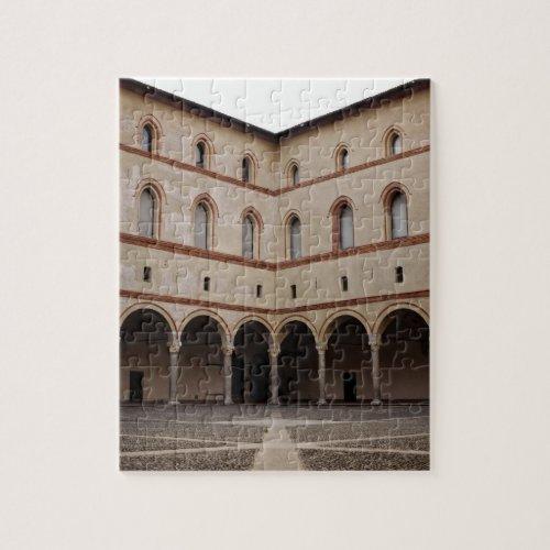 Castello Sforzesco Jigsaw Puzzles